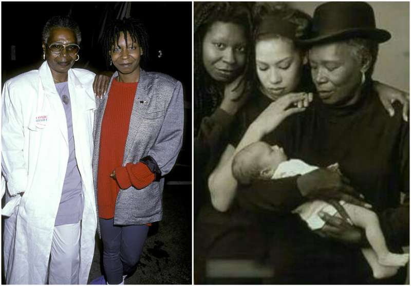 Whoopi Goldberg's family - mother Emma Johnson
