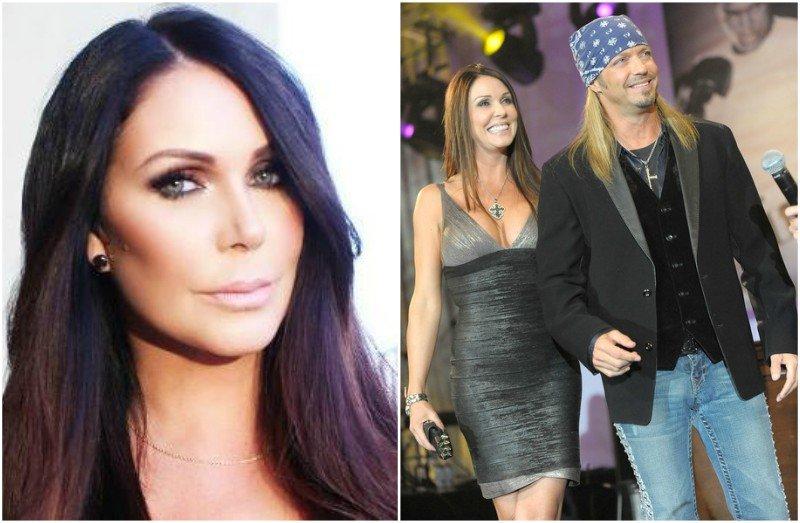 Bret Michaels' family - ex-partner Kristi Lynn Gibson