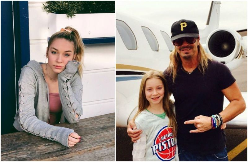 Bret Michaels' children - daughter Jorja Bleu Michaels