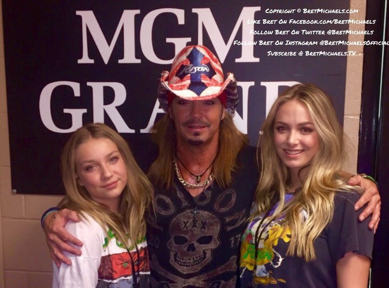 Bret Michaels' children