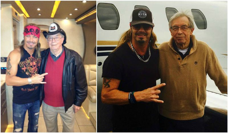 Bret Michaels' family - father Wally Sychak