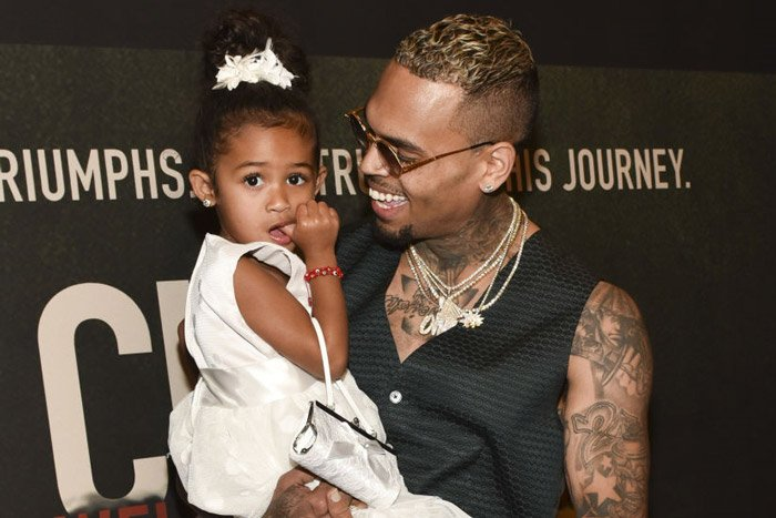 Chris Brown's children - daughter Royalty Brown