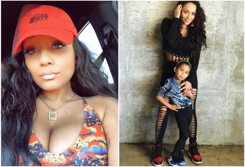 Chris Brown's family - ex-girlfriend Nia Guzman