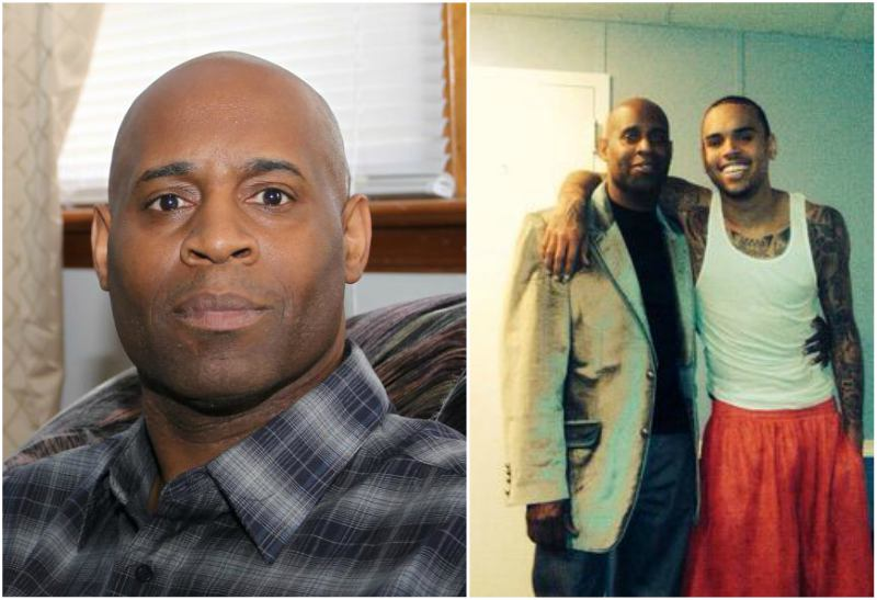 Chris Brown's family - father Clinton Brown