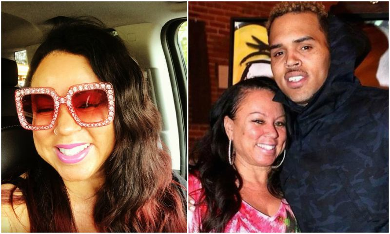 Chris Brown's family - mother Joyce Hawkins