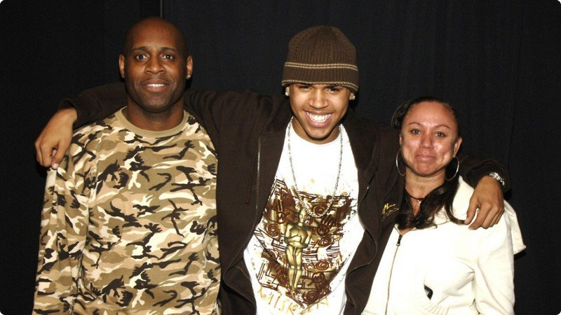 Chris Brown's family - parents