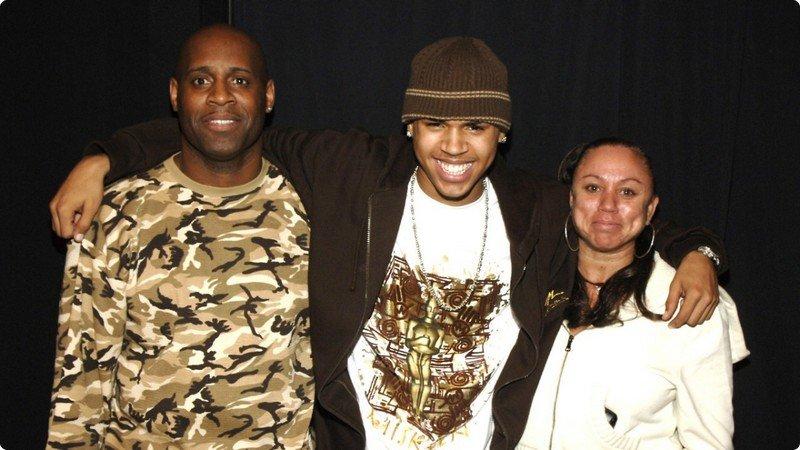 Chris Brown's family - parents