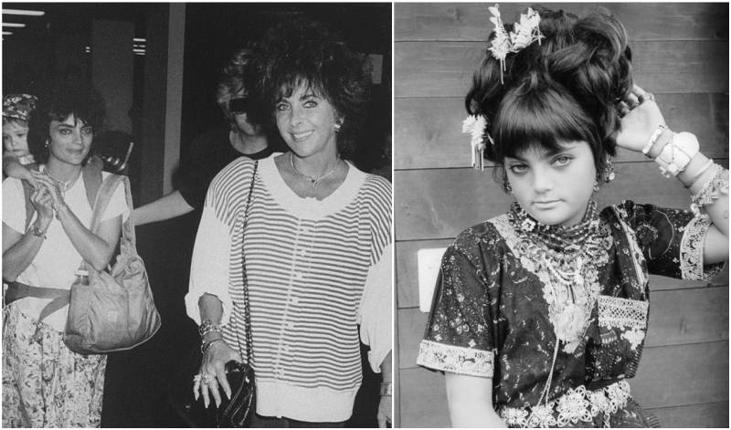 Elizabeth Taylor's children - daughter Liza Todd Burton
