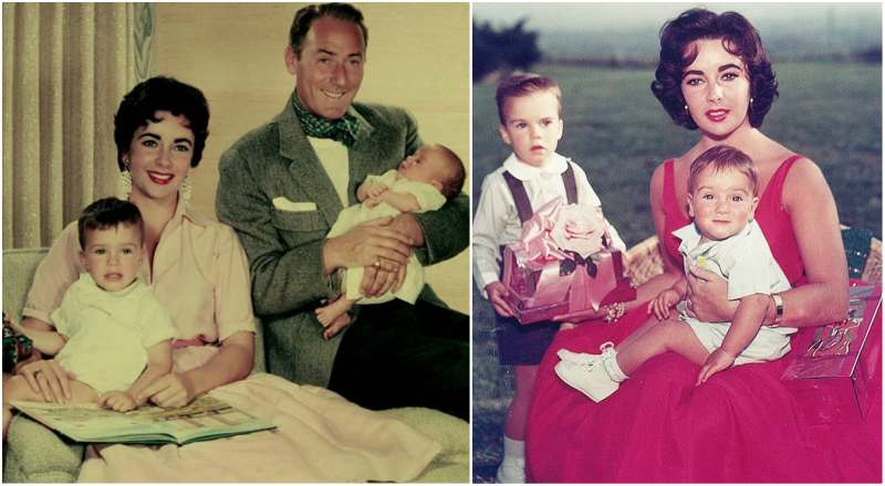 Elizabeth Taylor's 2 sons with Michael Wilding Sr.