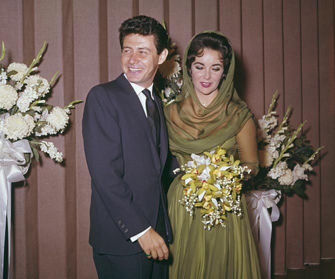 Elizabeth Taylor's family - ex-husband Eddie Fisher