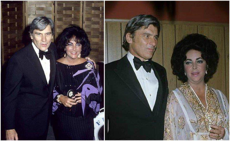 Elizabeth Taylor's family - ex-husband John Warner