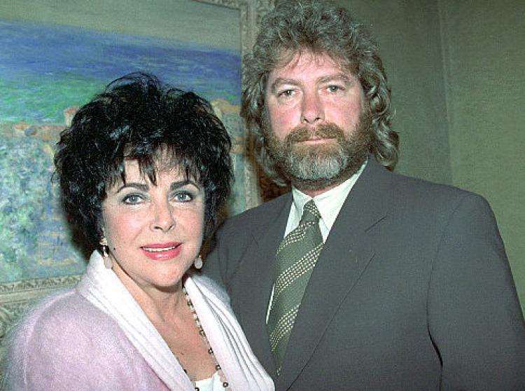 Elizabeth Taylor's family - ex-husband Larry Fortensky