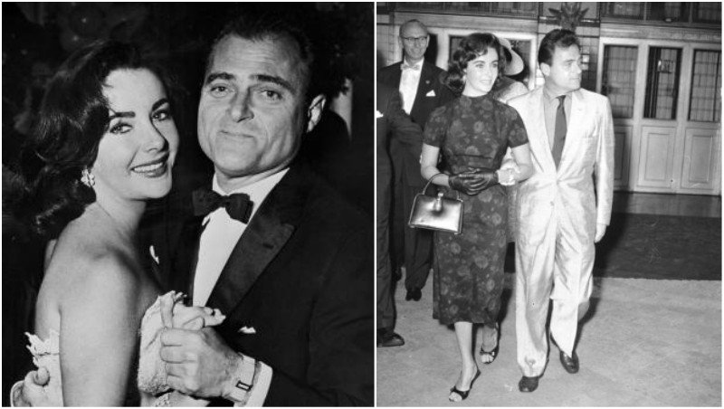 Elizabeth Taylor's family - ex-husband Mike Todd