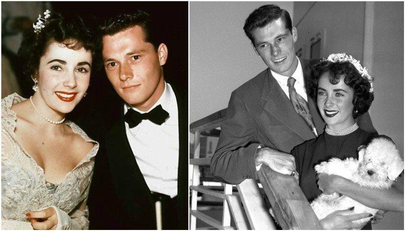 Elizabeth Taylor's family - ex-husband Nicholas Conrad Hilton Jr.