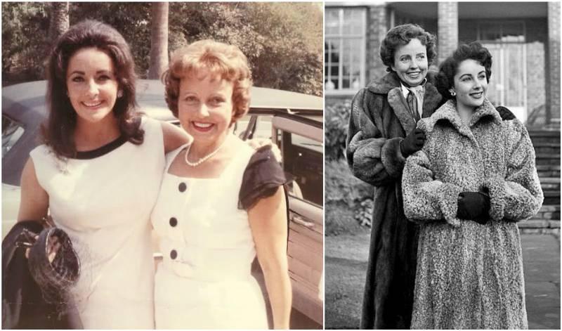 Elizabeth Taylor's family - mother Sara Viola Warmbrodt (Sara Sothern)