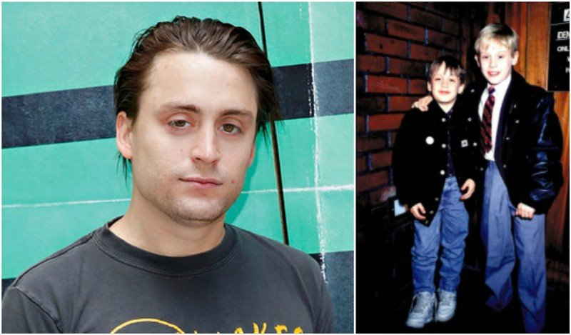 Macaulay Culkin's siblings - brother Kieran Kyle Culkin