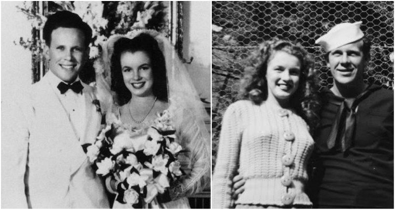 "Marilyn Monroe's family - ex-husband James ""Jimmie"" Dougherty"