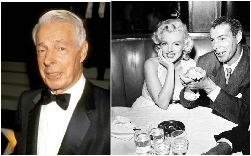 Marilyn Monroe's family - ex-husband Joe DiMaggio