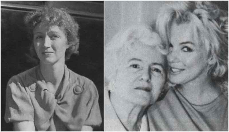 Marilyn Monroe's family - mother Gladys Pearl Baker