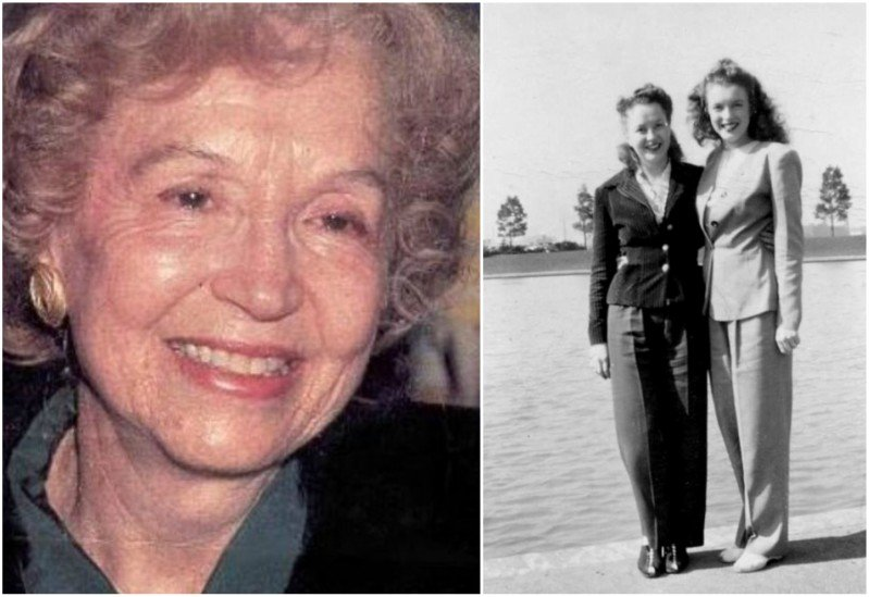 Marilyn Monroe's siblings - half-sister Berniece Baker Miracle
