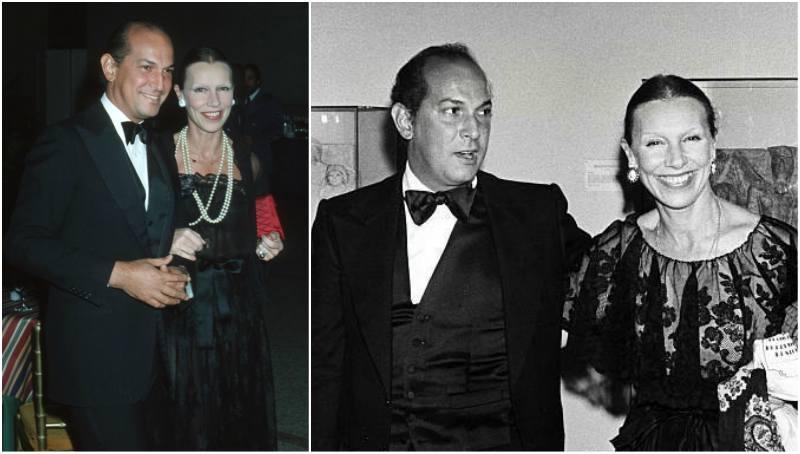 Oscar De La Renta's family - late wife Francoise de Langlade