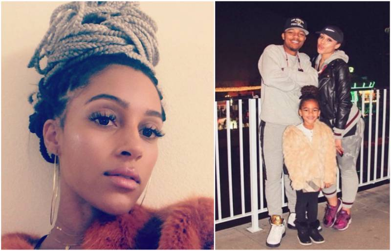 Bow Wow's family - ex-girlfriend Joie Chavis