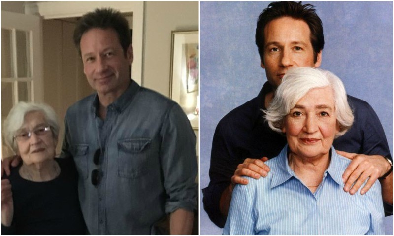 David Duchovny's family - mother Margaret Miller Duchovnhy