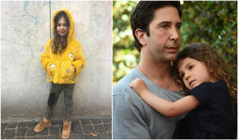 David Schwimmer's children - daughter Cleo Buckman Schwimmer