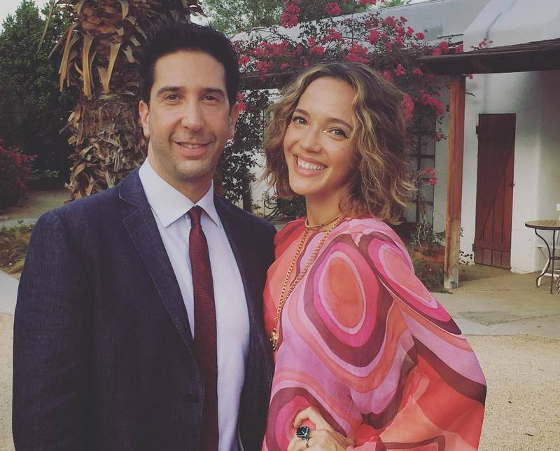 David Schwimmer's family - ex-spouse Zoe Buckman