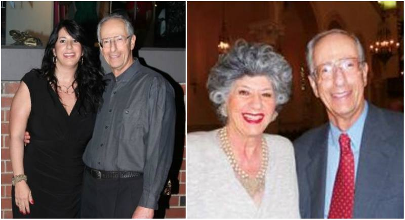 David Schwimmer's family - father Arthur Erwin Schwimmer