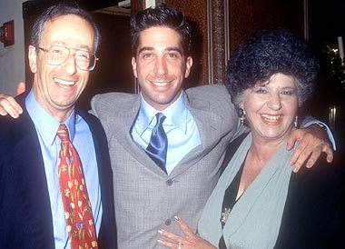 David Schwimmer's family - mother Arlene Coleman-Schwimmer