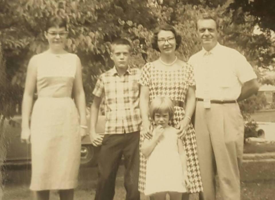 David Letterman's family