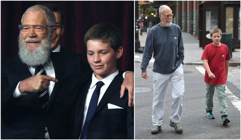 David Letterman's children - son Harry Joseph Letterman