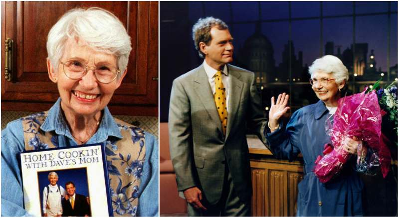 David Letterman's family - mother Dorothy Mengering