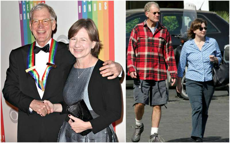 David Letterman's family - wife Regina Lasko