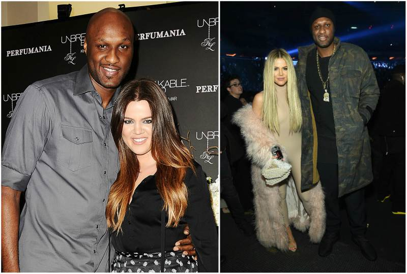 Khloe Kardashian's family - ex-husband Lamar Odom