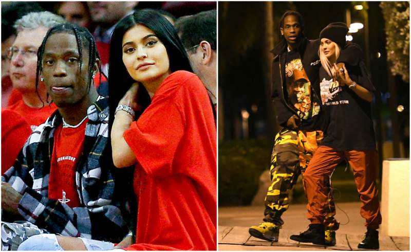 Kylie Jenner's family - boyfriend Travis Scott