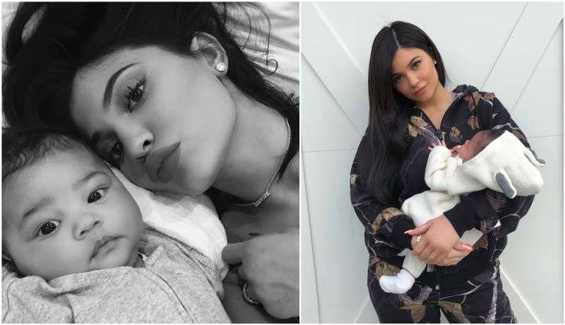 Kylie Jenner's children - daughter Stormi Webster