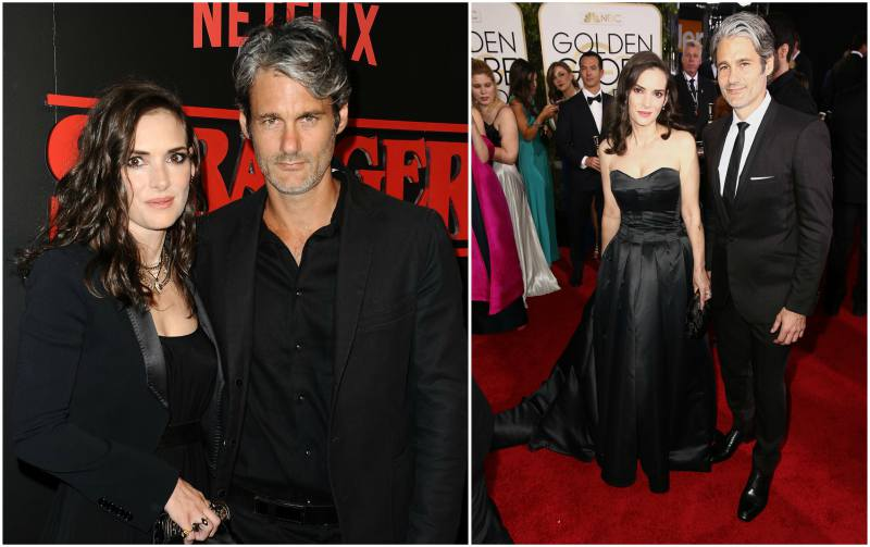 Winona Ryder's family - boyfriend Scott Mackinlay Hahn