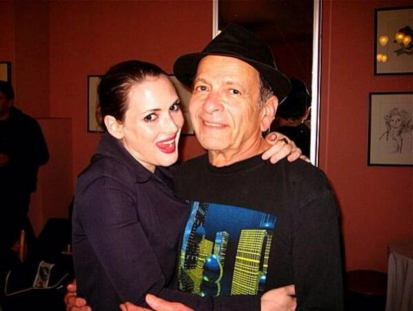 Winona Ryder's family - father Michael Horowitz