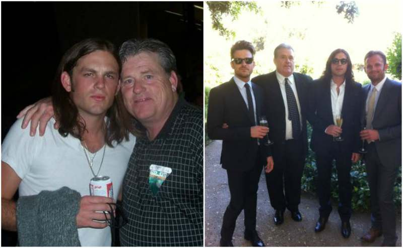 Caleb Followill's family - father Ivan Leon Followill