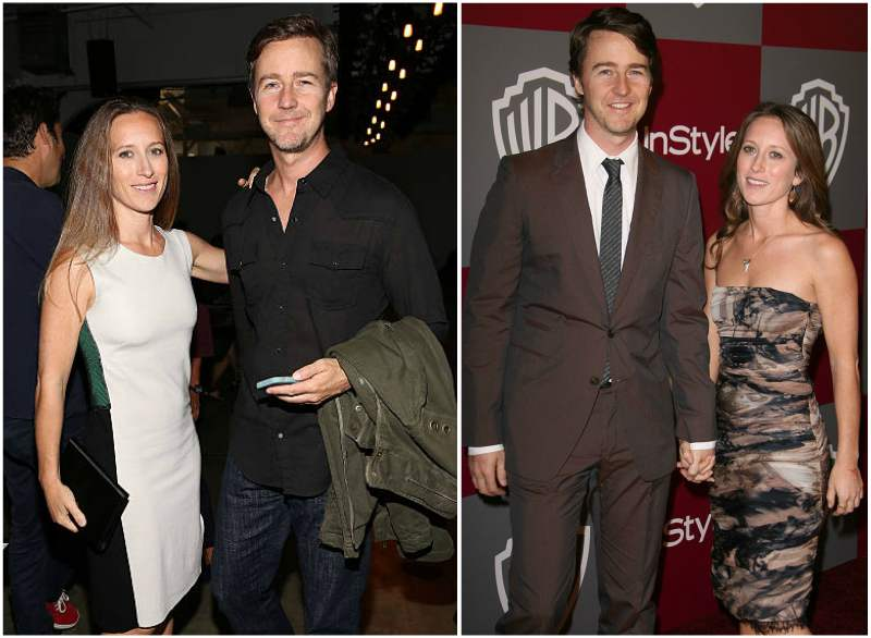 edward norton dating life