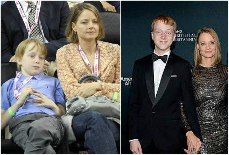 Jodie Foster's children - son Kit Bernard Foster