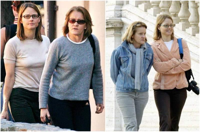Jodie Foster's family - ex-partner Cydney Bernard