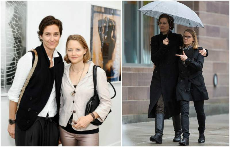 Jodie Foster's family - spouse Alexandra Hedison