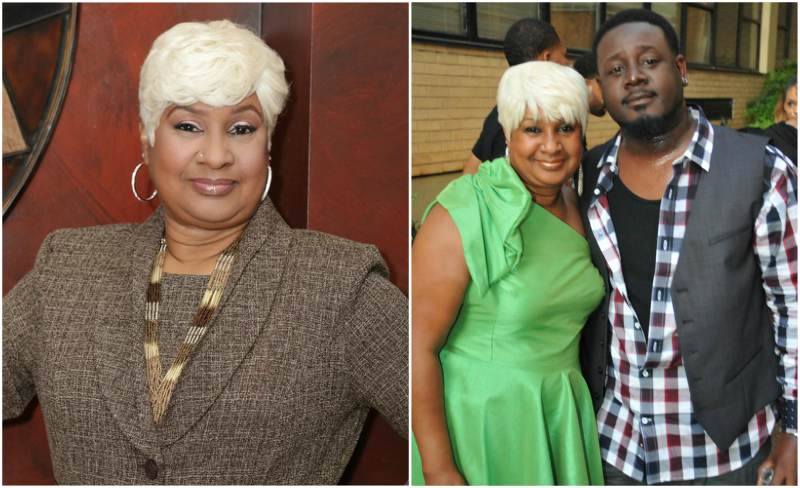 Rapper T-Pain's family - mother Aliyah Najm