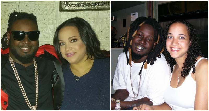 Rapper T-Pain's family - wife Amber Najm