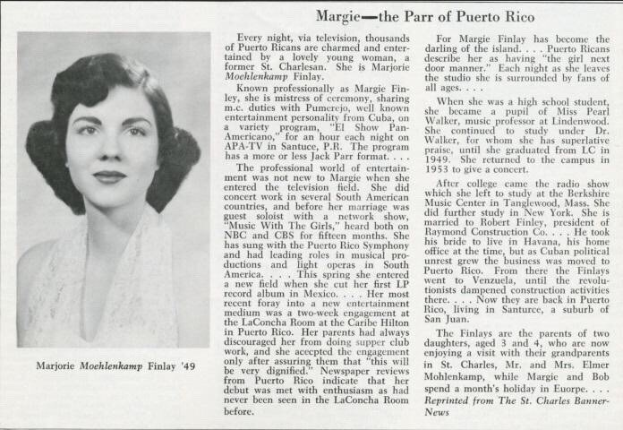 Taylor Swift's family - maternal grandmother Marjorie Moehlenkamp-Finlay