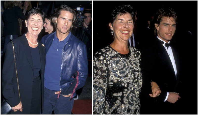 Tom Cruise's family - mother Mary Lee Pfeiffer