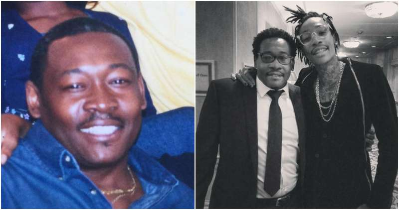 Wiz Khalifa's family - father Laurence Thomaz